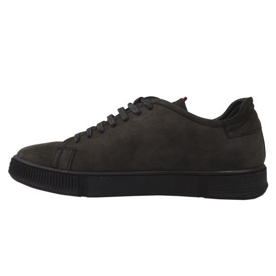 Туфлі спорт чоловічі Vadrus натуральна шкіра, колір хакі