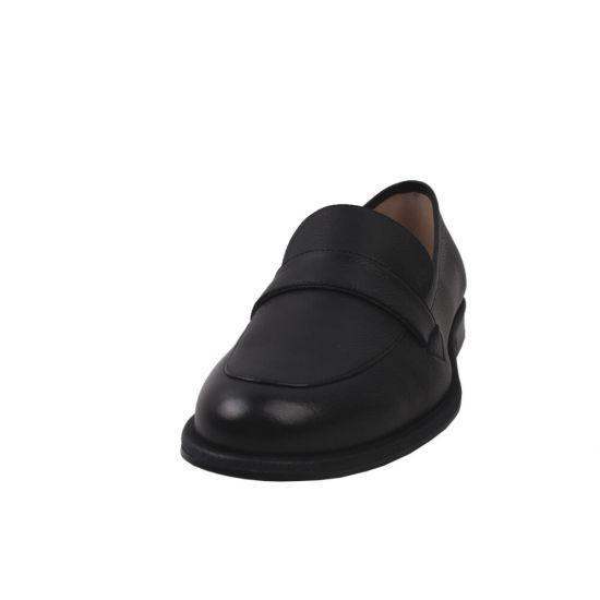 Туфлі комфорт жіночі натуральна шкіра, колір чорний