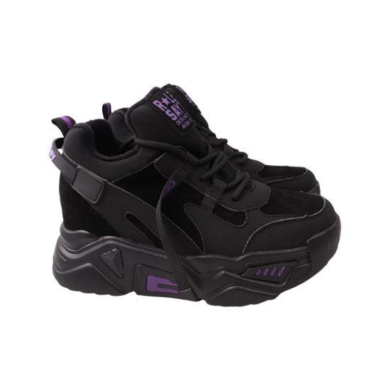 Кросівки жіночі Li Fexpert чорні нубук