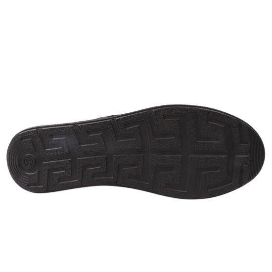 Кеди жіночі з натуральної шкіри, на низькому ходу, на шнурівці, колір чорний, Туреччина Euromoda