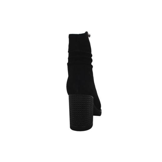 Ботильйони жіночі Polann Натуральна замша, колір чорний