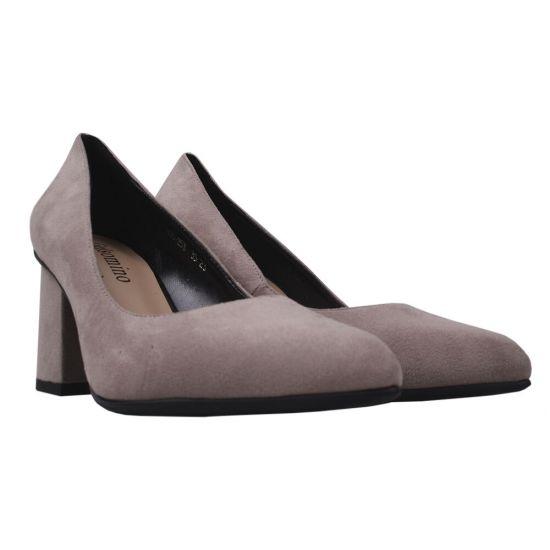 Туфлі жіночі еко замш, колір візон