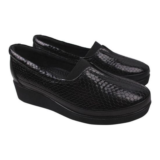 Туфлі жіночі Gossi Лакова натуральна шкіра, колір чорний