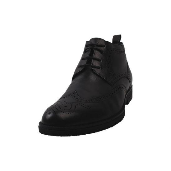 Черевики чоловічі Salenor натуральна шкіра, колір чорний