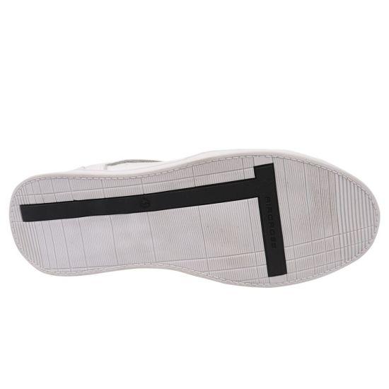 Кеди чоловічі з натуральної шкіри, на низькому ходу, на шнурівці, колір білий, Golovin
