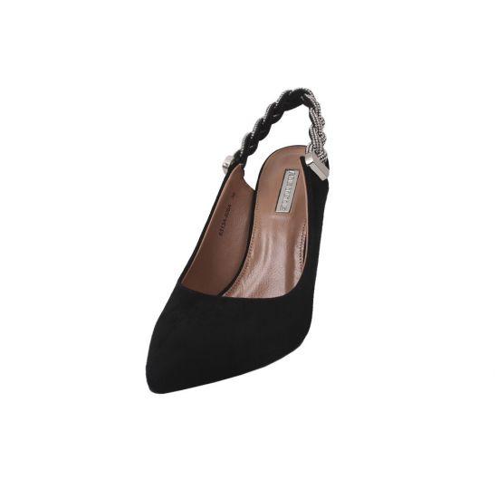 Туфлі Anemone Натуральна замша, колір чорний