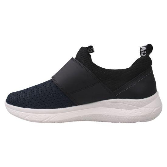 Туфлі спорт чоловічі Текстиль, колір синій