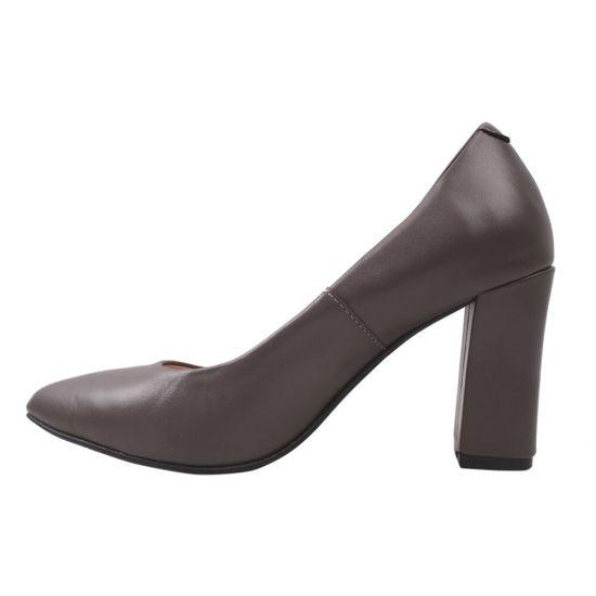 Туфлі жіночі Angels натуральна шкіра, колір візон