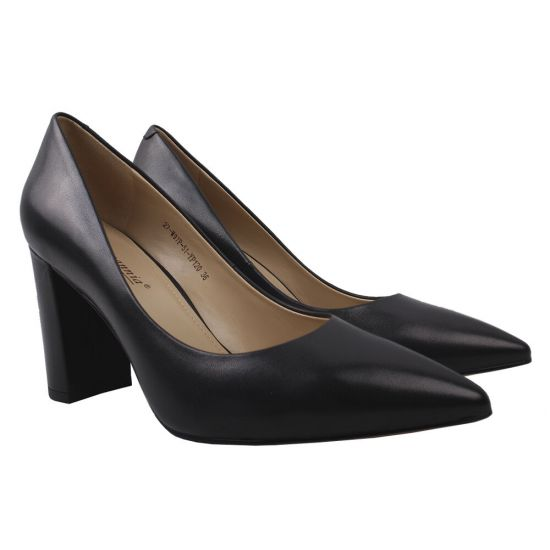 Туфлі жіночі Djovannia натуральна шкіра, колір чорний