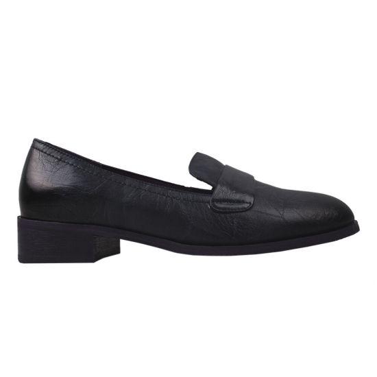 Туфлі жіночі Polann натуральна шкіра, колір синій
