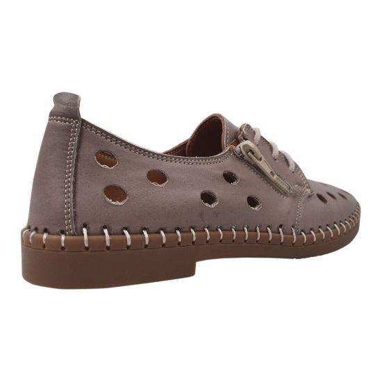 Туфлі жіночі Gossi натуральна шкіра, колір капучіно