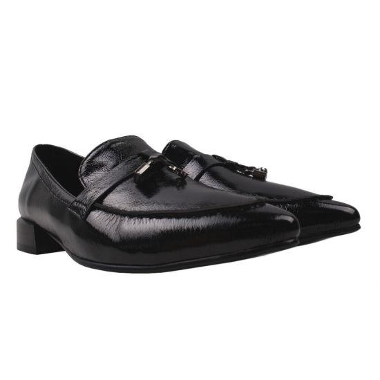 Туфлі жіночі Liici еко лак, колір чорний