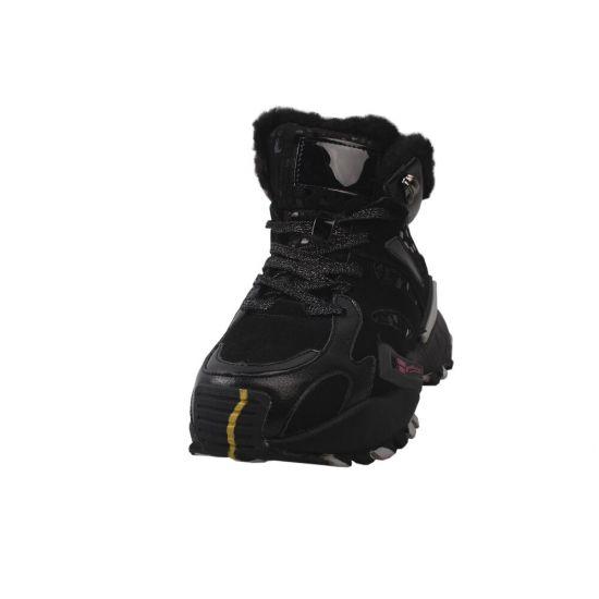 Кросівки жіночі Li Fexpert Натуральна замша, колір чорний