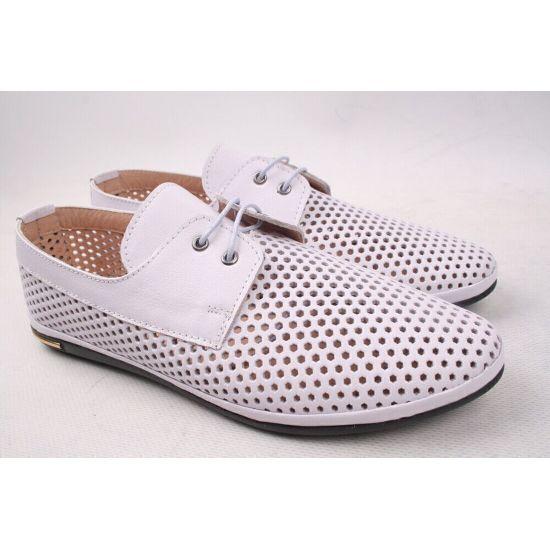 Туфлі жіночі Magnolya натуральна шкіра, колір бузок