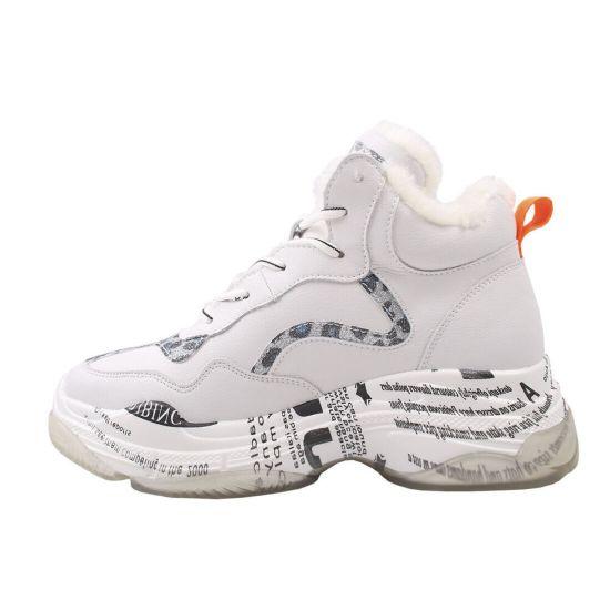 Кросівки жіночі Vensi натуральна шкіра, колір білий 127-9ZKH
