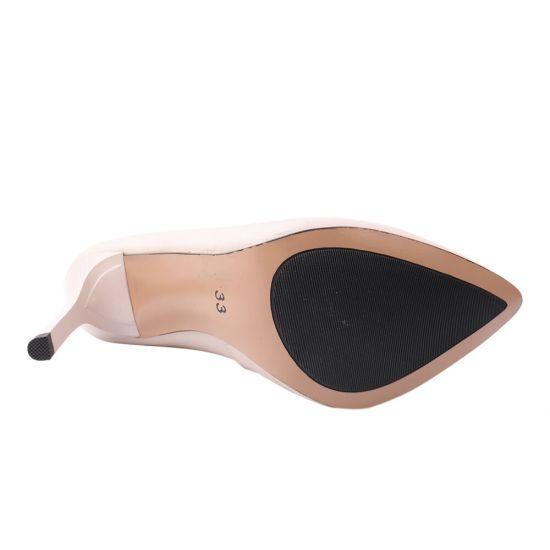 Туфлі жіночі Erisses натуральна шкіра, колір пудра