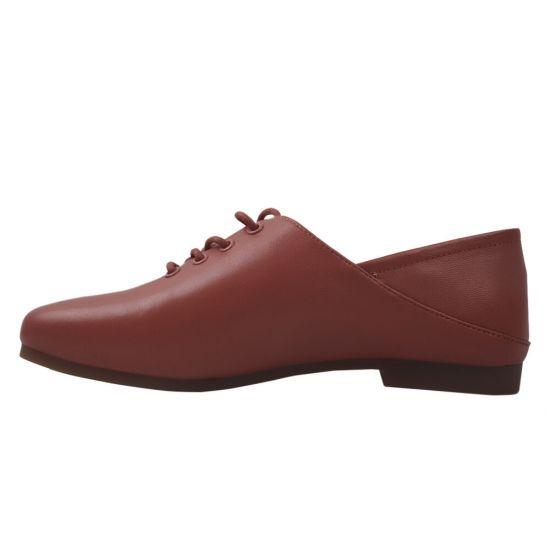 Туфлі жіночі Berkonty натуральна шкіра, колір червоний