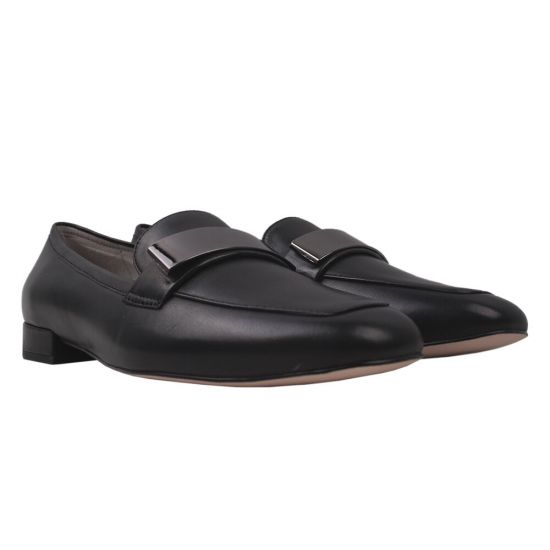 Туфлі жіночі Anemone натуральна шкіра, колір чорний