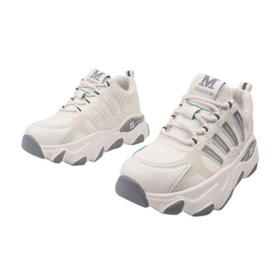 Кросівки жіночі з текстилю, на низькому ходу, на шнурівці, білі, Li Fexpert