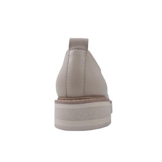 Туфлі жіночі Sasha Fabiani натуральна шкіра, колір молочний