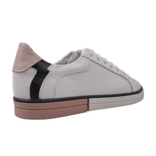 Туфлі жіночі натуральна шкіра, колір білий