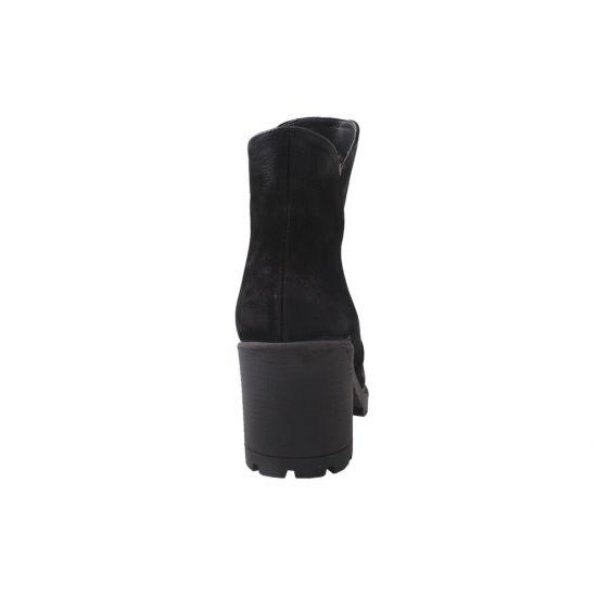 Ботильйони жіночі Roberto Netti Нубук, колір чорний