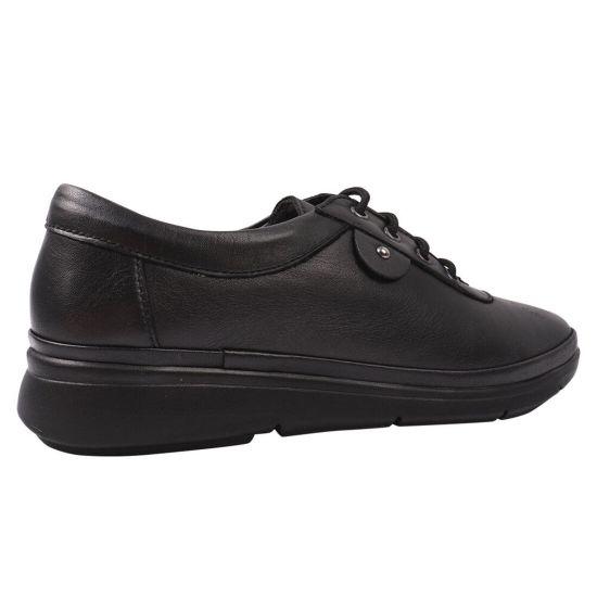 Туфлі комфорт жіночі Trio Trend натуральна шкіра, колір чорний