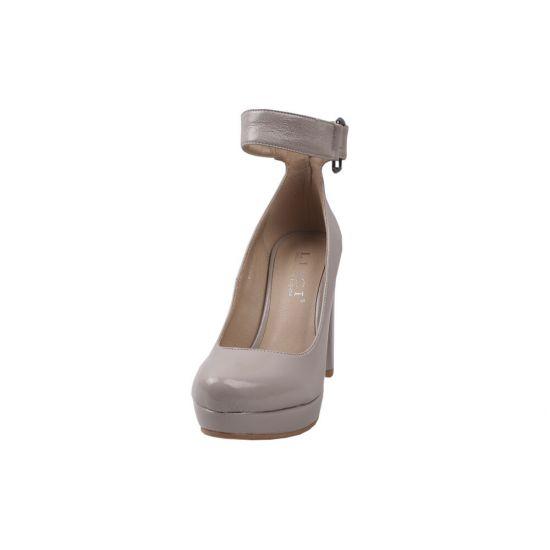 Туфлі жіночі Liici еко шкіра, колір сірий