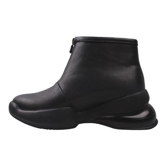 Кросівки жіночі Kento натуральна шкіра, колір чорний