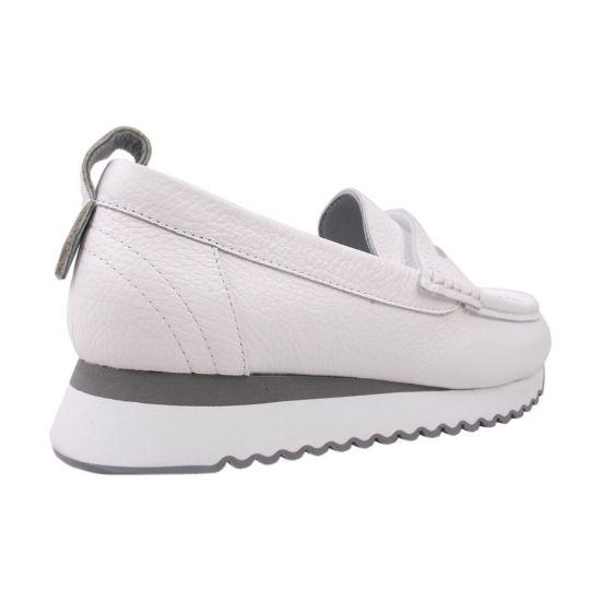 Туфлі жіночі Alpino натуральна шкіра, колір білий