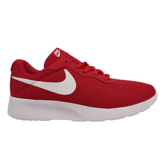 Кросівки чоловічі з текстилю, на низькому ходу, на шнурівці, колір червоний, Nike