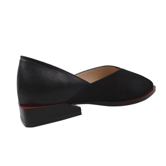 Туфлі жіночі Aquamarin Лакова натуральна шкіра, колір чорний