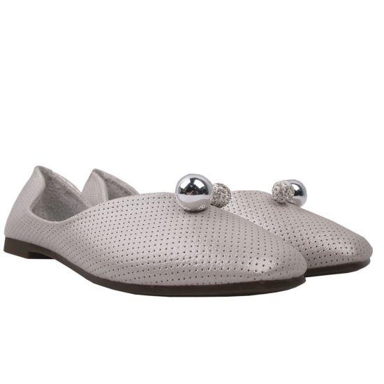 Туфлі комфорт жіночі Gelsomino еко шкіра, колір бежевий