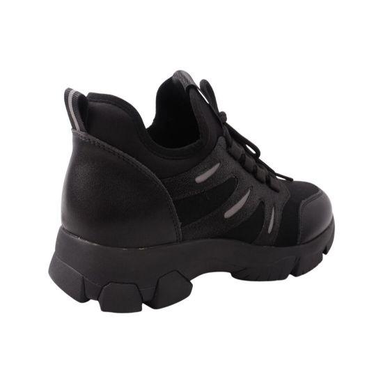 Кросівки жіночі Farinni чорні текстиль