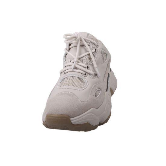 Туфлі спорт Vikonty Натуральна замша, колір молочний