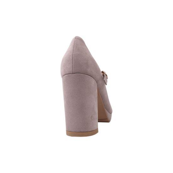 Туфлі жіночі Liici еко замш, колір пудра