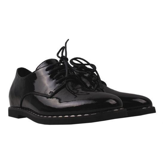 Туфлі жіночі Farinni Лакова натуральна шкіра, колір чорний