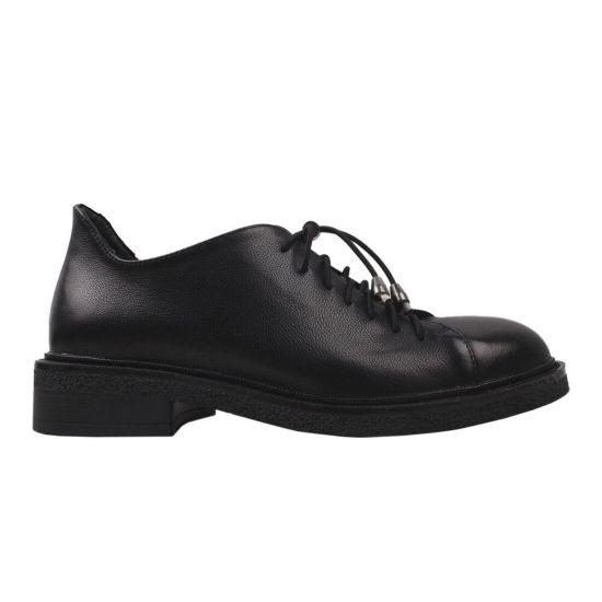 Туфлі жіночі Farinni натуральна шкіра, колір чорний