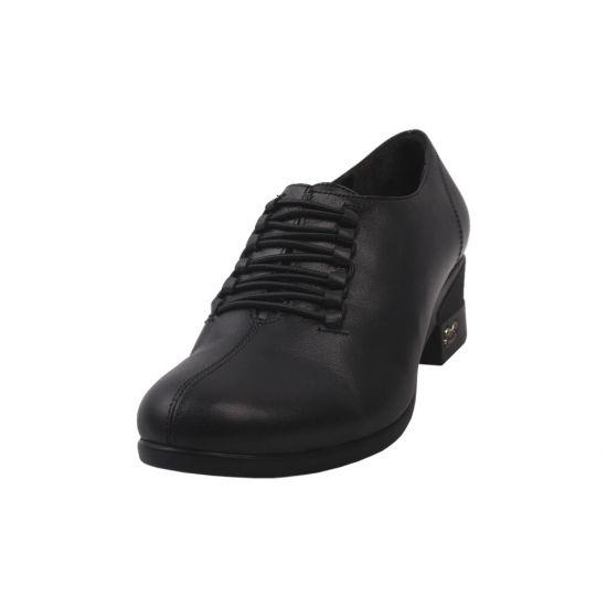 Туфлі комфорт жіночі Phany натуральна шкіра, колір чорний