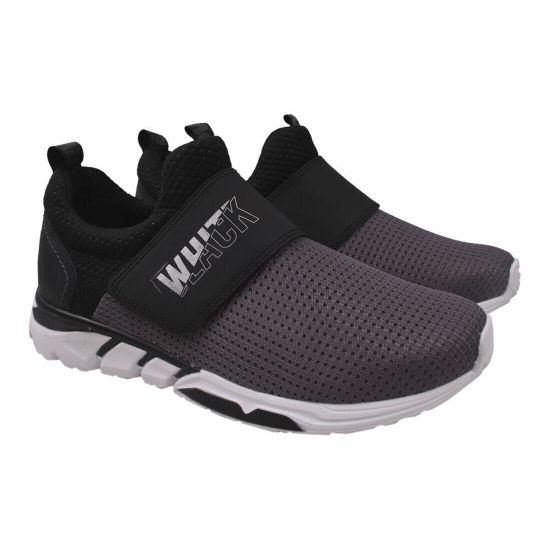 Кросівки чоловічі Текстиль, колір сірий