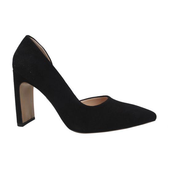Туфлі жіночі Lottini Натуральна замша, колір чорний