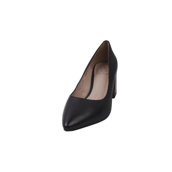 Туфлі жіночі Molka натуральна шкіра, колір чорний