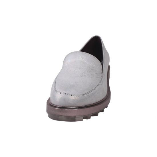 Туфлі жіночі Polann натуральна шкіра, колір сірий