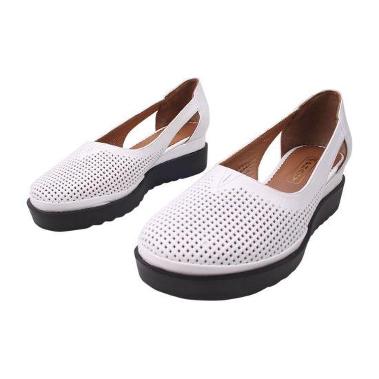 Туфлі жіночі Phany натуральна шкіра, колір білий