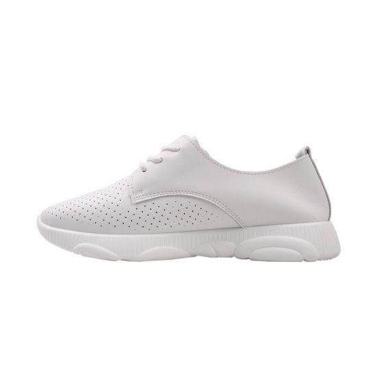 Кросівки жіночі натуральна шкіра, колір білий