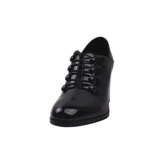 Туфлі жіночі Erisses Лакова натуральна шкіра, колір чорний