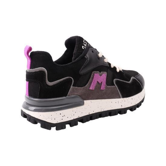 Кросівки жіночі Li Fexpert чорні натуральна замша