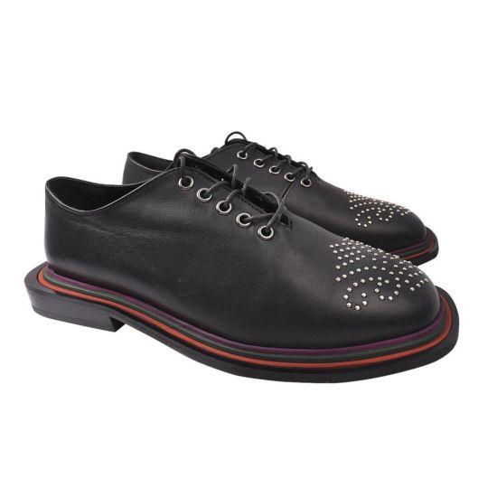 Туфлі жіночі Sattini натуральна шкіра, колір чорний