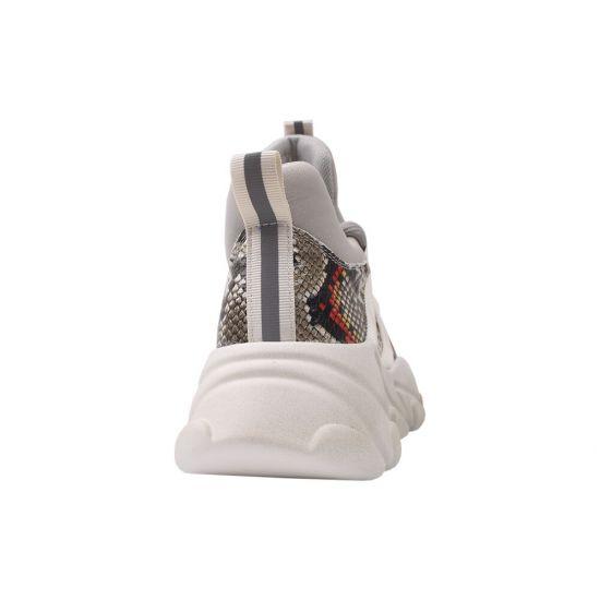 Кросівки жіночі Arees Натуральна замша, колір сірий 10-20DK
