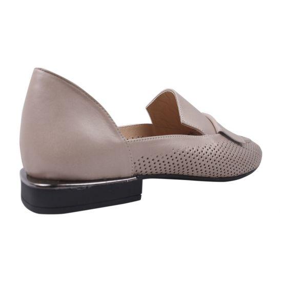 Туфлі жіночі Ripka натуральна шкіра, колір бежевий